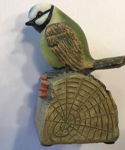 Grøn fugl med fløjt
