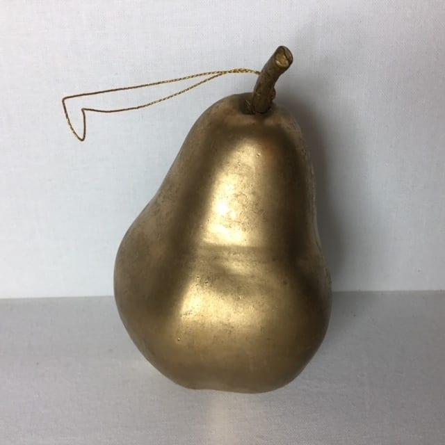 Guld pære til ophæng