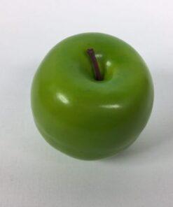 Kunstigt grønt æble