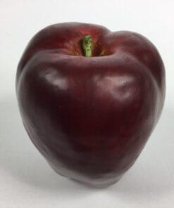 Kunstig æble stort rødt
