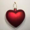 Kæmpe hjerte mat rød