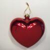 Hjerte i blank rød