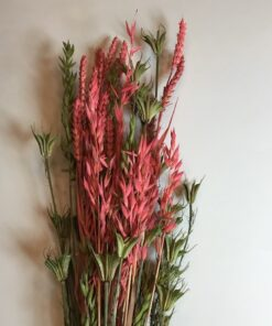 Gultørrede blomsterbuket