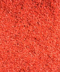 Små røde pynte sten