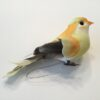 Dekorativ orange gul fugl
