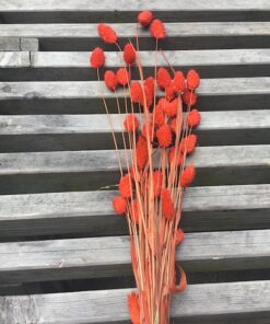 Orange dekorativ buket