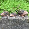 Dekorative mini pindsvin