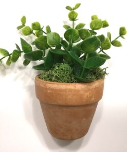 Grøn dekorativ mini blomst
