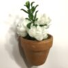 Dekorativ hvid mini blomst