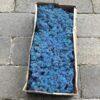 Royal blå kasse mos