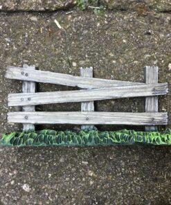 Mini hegn med græs